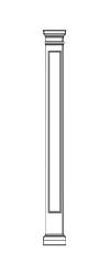 Square Fiberglass Columns | Augusta Sash & Door